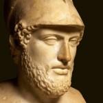 Busto de Pericles del siglo II d.C. Museo Británico, Londres.